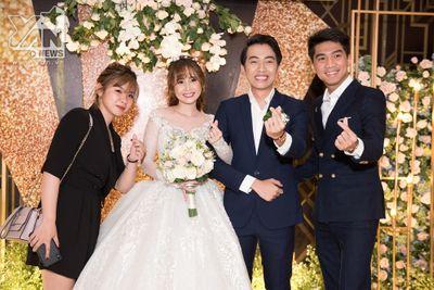PewPew xuất hiện cùng bạn gái trong đám cưới Cris Phan – Mai Quỳnh Anh - ảnh 1