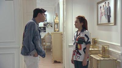 Phim Về nhà đi con tập 52: Xuất hiện người thứ 3 khiến cuộc hôn nhân của Vũ - Thư sứt mẻ - ảnh 1