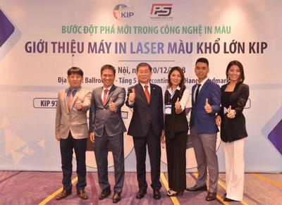 Phú Sơn giới thiệu máy in laser công nghệ màu - ảnh 1
