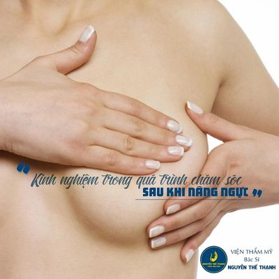 Kinh nghiệm trong quá trình chăm sóc sau nâng ngực bạn cần biết  - ảnh 1