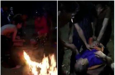 Dân làng đốt rơm rạ sưởi ấm, cứu sống nam thanh niên bị đuối nước trong đêm tối - ảnh 1