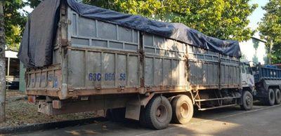 Trốn công an khi đổ trộm hơn 20 tấn rác thải, tài xế bị rắn độc cắn - ảnh 1