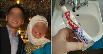 Cặp đôi ly hôn vì không thống nhất được cách bóp kem đánh răng - ảnh 1