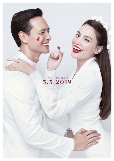 Rộ tin đồn Hồ Ngọc Hà và Kim Lý làm đám cưới vào tháng 3 tới - ảnh 1