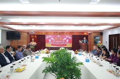 Hội Luật gia Việt Nam gặp mặt tri ân cán bộ hưu trí nhân dịp Xuân Canh Tý 2020 - ảnh 1