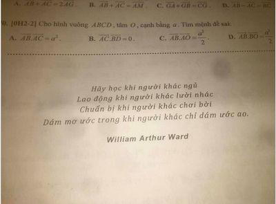 Giao bài tập Tết, thầy giáo để lại câu này khiến học trò đang ngủ cũng bật dậy làm tức khắc - ảnh 1