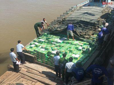 Khởi tố vụ buôn lậu nước ngọt hơn 8,6 tỷ đồng ở An Giang - ảnh 1