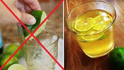 """Nước chanh rất tốt cho cơ thể, nhưng uống kiểu này còn hại hơn """"thuốc độc"""" - ảnh 1"""