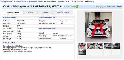 Trúng biển ngũ quý 2, xe Mitsubishi Xpander bất ngờ có giá hơn 1,4 tỷ đồng - ảnh 1