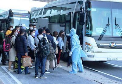 Hơn 400 công dân từ Nhật Bản trở về đều khỏe mạnh - ảnh 1