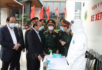 Thủ tướng biểu dương toàn quân