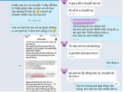 Cô gái chuyển nhầm tiền từ thiện, nhắn tin xin lại và phản ứng bất ngờ của người đàn ông lạ mặt - ảnh 1
