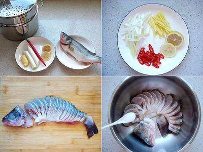Bữa trưa không dầu mỡ với món cá hấp, ai ăn cũng tấm tắc khen - ảnh 1