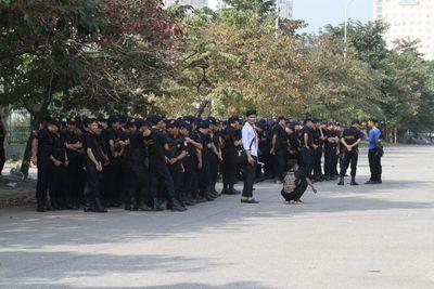 Hà Nội tung hàng trăm cảnh sát đảm bảo an ninh trận Việt Nam – Philippines - ảnh 1