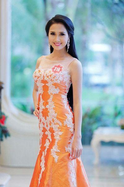 Người có mái tóc đẹp nhất Hoa hậu Việt Nam 2014 xuống tóc đi tu - ảnh 1