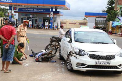 Công an Đắk Lắk nói gì về thông tin CSGT truy đuổi khiến 2 học sinh bị tai nạn? - ảnh 1