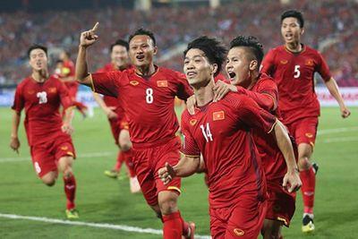 ĐT Việt Nam tăng 2 bậc trên bảng xếp hạng FIFA - ảnh 1