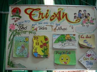 Lời ngỏ báo tường xúc động nhất cho ngày Nhà giáo Việt Nam 20/11 - ảnh 1