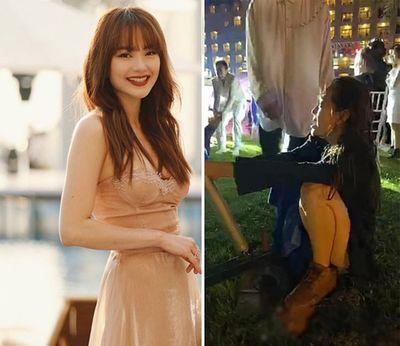 """Chuyện chưa kể về """"bà mai"""" xui xẻo nhất đám cưới cặp đôi Đông Nhi, Ông Cao Thắng - ảnh 1"""