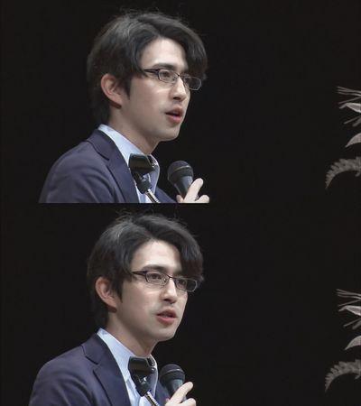 Giáo sư Nhật Bản đẹp trai như tài tử điện ảnh khiến dân mạng không thể rời mắt - ảnh 1