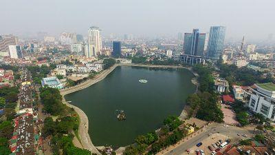 Đề xuất lấp một phần hồ Thành Công xây chung cư - ảnh 1