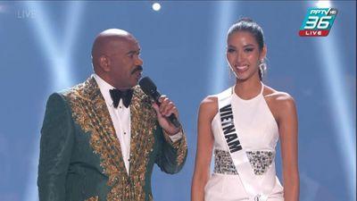 Hoàng Thùy khiến fan Việt tự hào khi mang ca dao tục ngữ đến Miss Universe 2019  - ảnh 1