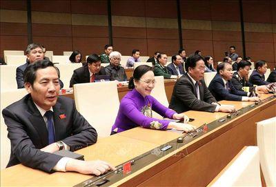 Quốc hội thông qua 3 Nghị quyết quan trọng - ảnh 1