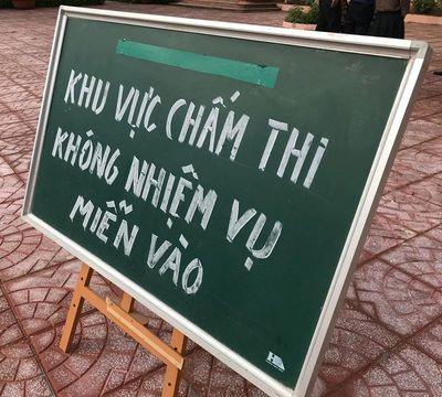 3% bài thi trắc nghiệm phải chấm lại ở Sơn La, Hội đồng chấm thi nói gì? - ảnh 1