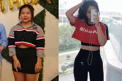 Nữ sinh TP HCM quyết giảm 18kg, lột xác thành mỹ nhân - ảnh 1