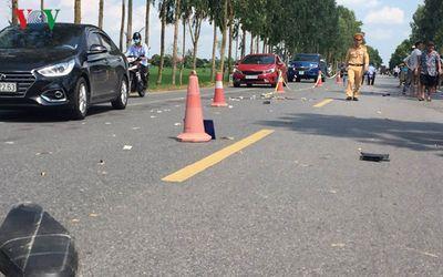Hải Dương: Người đàn ông đi xe máy tử vong sau va chạm với ô tô du lịch - ảnh 1