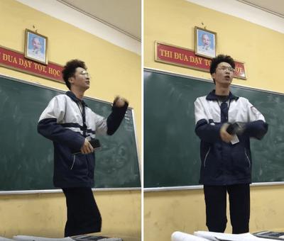 Cộng đồng mạng thích thú khi nghe nam sinh hát rap về Chí Phèo - ảnh 1