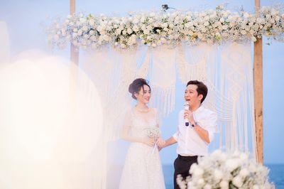 Hé lộ bộ ảnh cưới đẹp như bìa tạp chí của Trường Giang – Nhã Phương sau hơn 1 năm kết hôn - ảnh 1