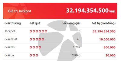 Kết quả xổ số Vietlott hôm nay 22/5/2020: Ai sẽ là chủ nhân giải Jackpot 32 tỷ đồng? - ảnh 1