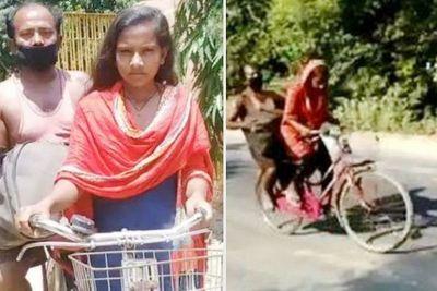 Con gái đạp xe 1.200km chở cha bị thương về quê và câu chuyện xúc động đằng sau - ảnh 1