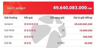 Kết quả xổ số Vietlott hôm nay 3/6/2020: Ai sẽ là chủ nhân giải Jackpot 49 tỷ đồng? - ảnh 1
