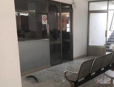 Vụ nổ tại Cục Thuế tỉnh Bình Dương: Xác định nguyên ban đầu - ảnh 1