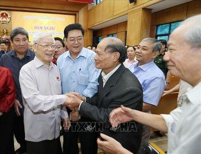 Tổng Bí thư, Chủ tịch nước Nguyễn Phú Trọng: Giữ vững nguyên tắc độc lập chủ quyền, toàn vẹn lãnh thổ - ảnh 1