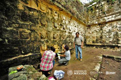 Bất ngờ phát hiện cung điện 1.000 năm tuổi thuộc nền văn minh Maya  - ảnh 1