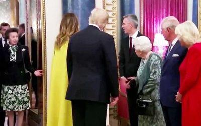 Sự thật phía sau video gây tranh cãi trong lễ đón Tổng thống Trump tại Cung điện Buckingham - ảnh 1