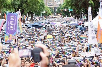 Đài Loan trở thành quốc gia đầu tiên tại châu Á hợp pháp hóa hôn nhân đồng giới - ảnh 1