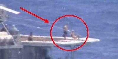 Đô đốc Nga lên tiếng lý giải việc thủy thủ tắm nắng trong khi chiến hạm suýt đâm tàu Mỹ - ảnh 1