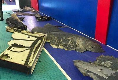Iran công bố hình ảnh các mảnh vỡ máy bay trinh sát Mỹ bị bắn hạ  - ảnh 1