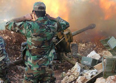 Quân đội Syria nã tên lửa thiêu rụi nhiều căn cứ trọng yếu của khủng bố tại Hama, Idlib - ảnh 1