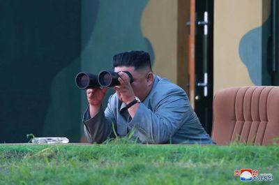 Triều Tiên xác nhận thử nghiệm hệ thống tên lửa dẫn đường đa nòng cỡ lớn - ảnh 1
