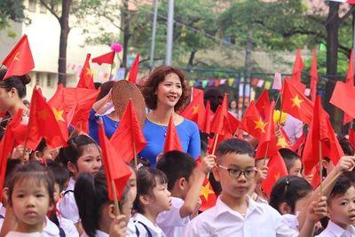 Hôm nay (5/9), hơn 20 triệu học sinh trên cả nước hân hoan bước vào năm học mới  - ảnh 1