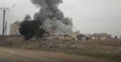 Tin tức quân sự mới nóng nhất ngày 18/1: Nga san phẳng căn cứ phiến quân tại Aleppo - ảnh 1