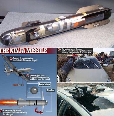 """Tầm hủy diệt kinh hoàng của tên lửa """"siêu phẫu thuật"""" Hellfire R9X Mỹ dùng ám sát tướng Soleimani - ảnh 1"""