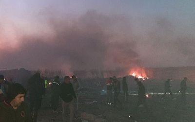 Hiện trường thảm khốc vụ rơi máy bay khiến 170 thiệt mạng tại Iran - ảnh 1