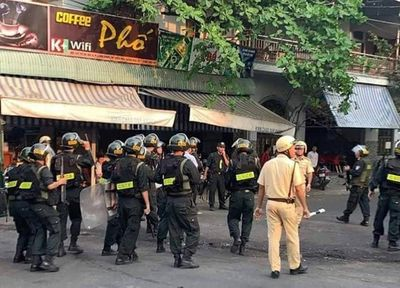 Đồng Nai: Khống chế đối tượng chém chị vợ, dọa cho nổ bình gas, cố thủ trong nhà - ảnh 1