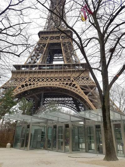 Nước Pháp phong tỏa vì Covid-19: Tháp Eiffel, Khải Hoàn Môn hiu hắt không bóng người - ảnh 1